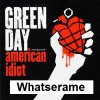 Green Day - Whatserame