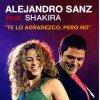 Alejandro Sanz y Shakira - Te lo agradezco pero no